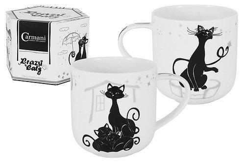 """Кружка """"Crazy Cats. Кошка с котятами"""" 0.5л"""