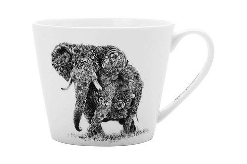 """Кружка """"Африканский слон"""" 0.45л"""