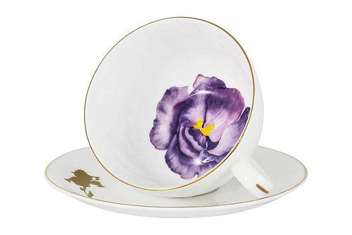 """Чашка с блюдцем """"Iris"""" 0.25л"""