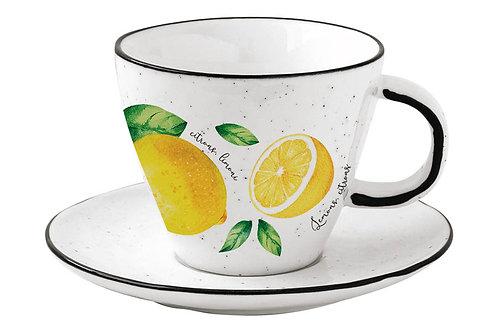 """Чашка с блюдцем """"Amalfi"""" 0.25л"""