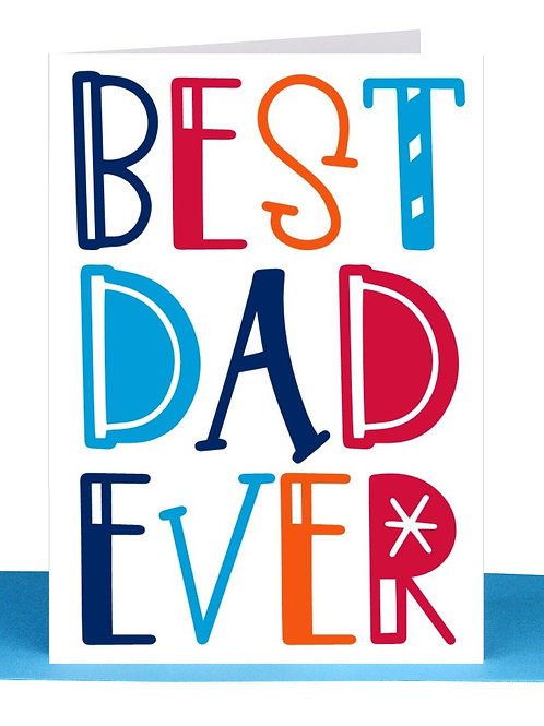 Greeting Card - Best Dad Ever