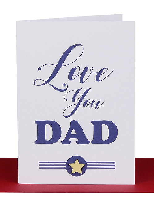 Greeting Card - Love you dad