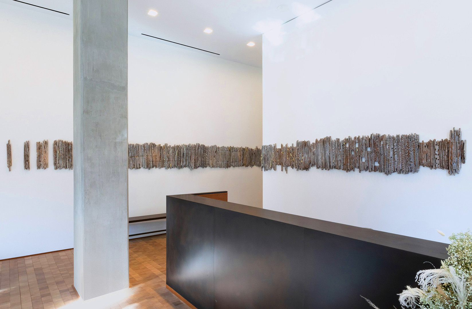 JUNE 28, 2019, a site-responsive wall sculpture commissioned for the residential lobby at LIZ, DC