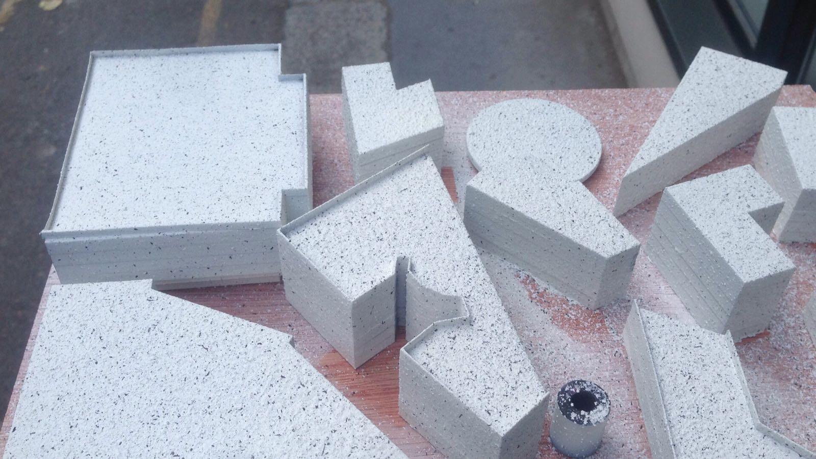 Model - Texture exploration.