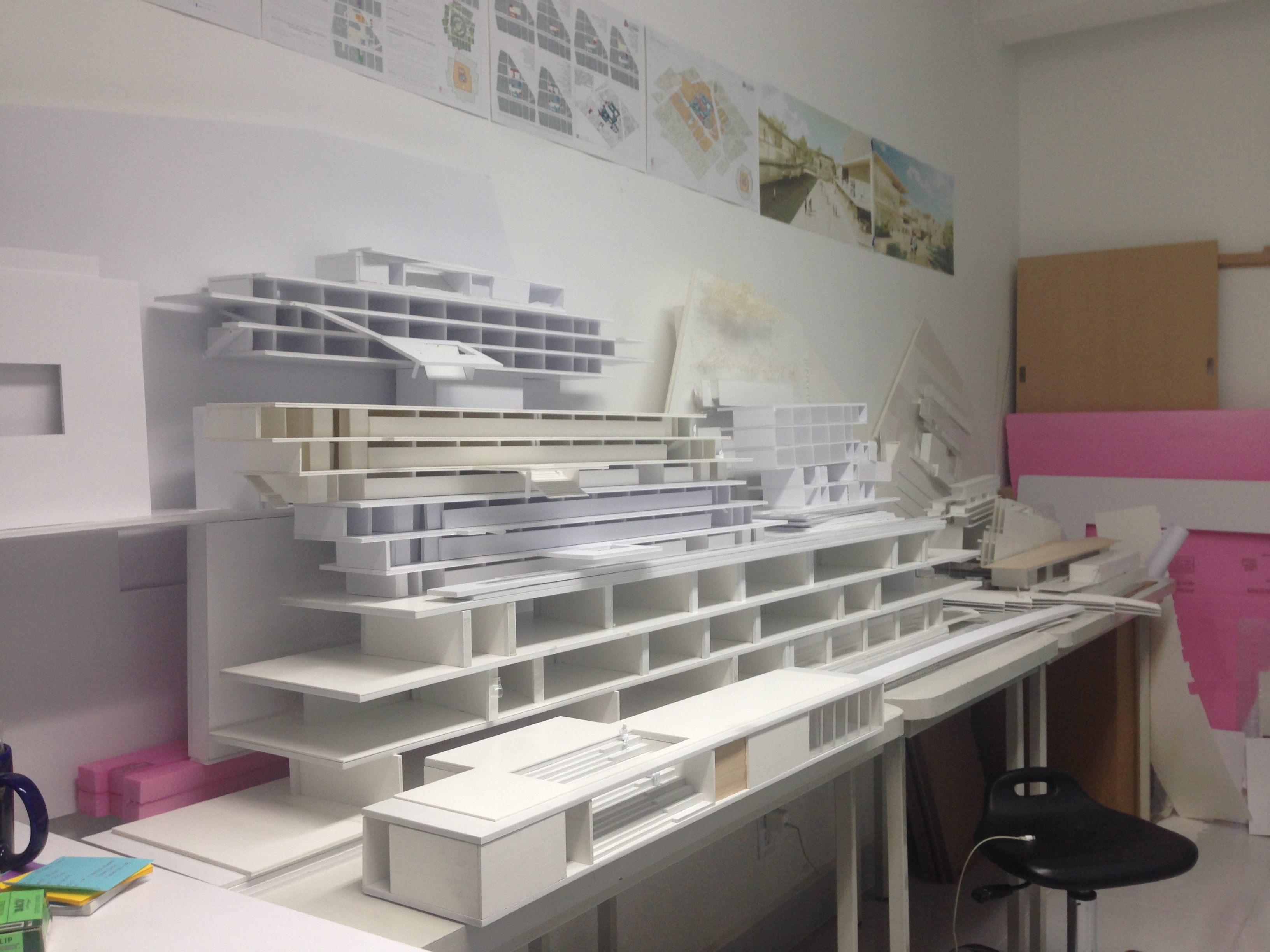 Collection of study models