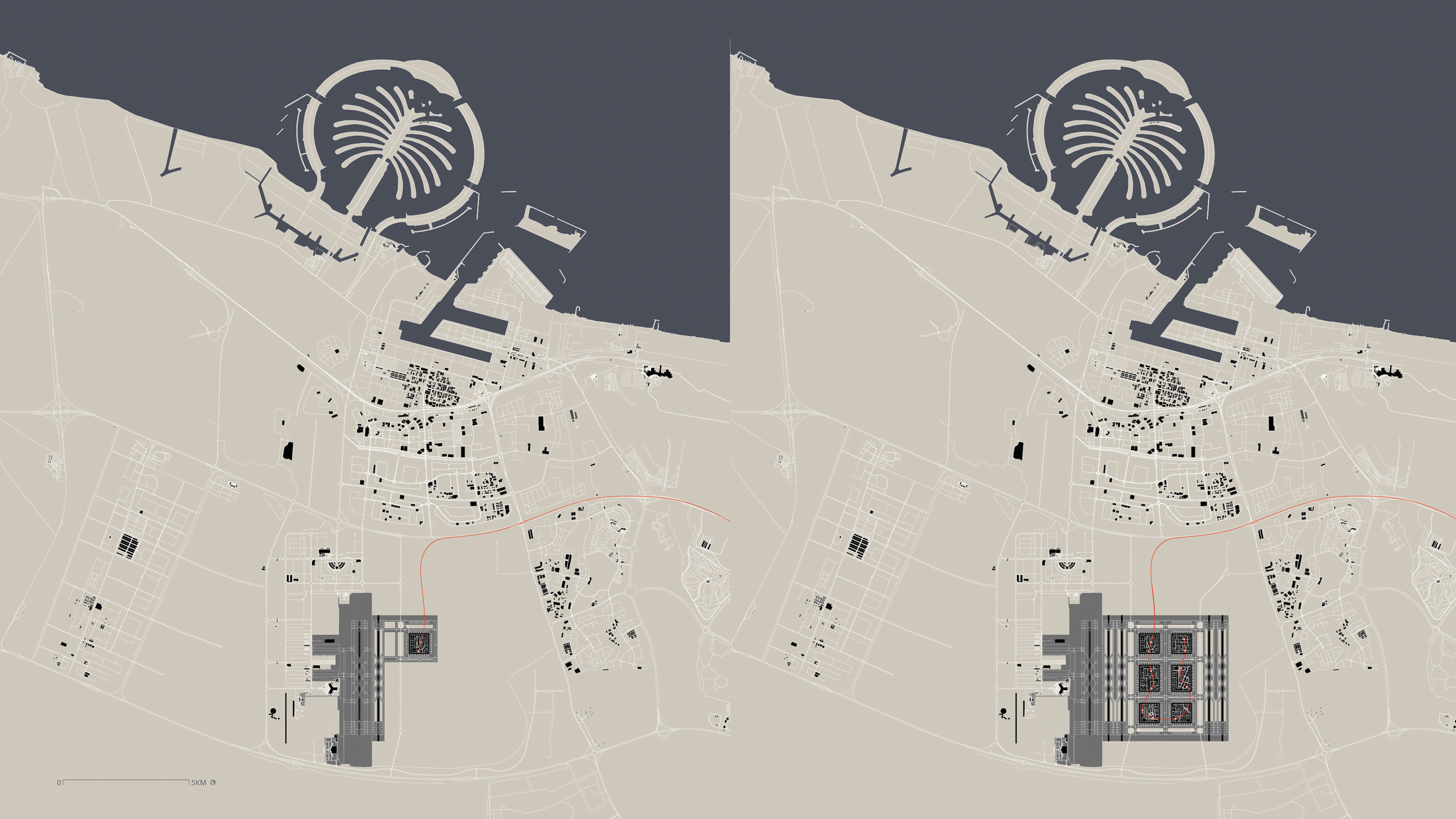 The Urban Form of Aviation