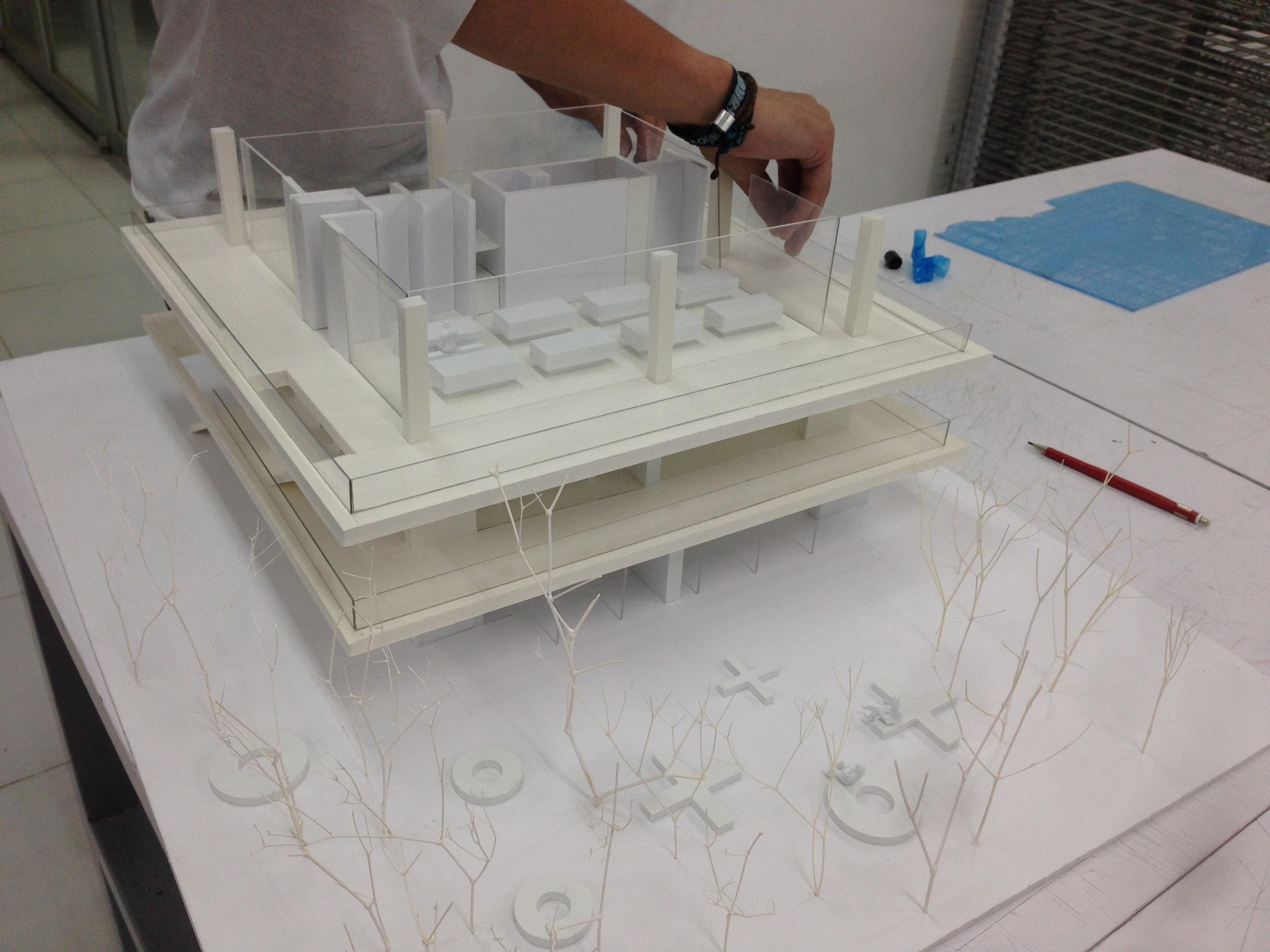 Presentation model.