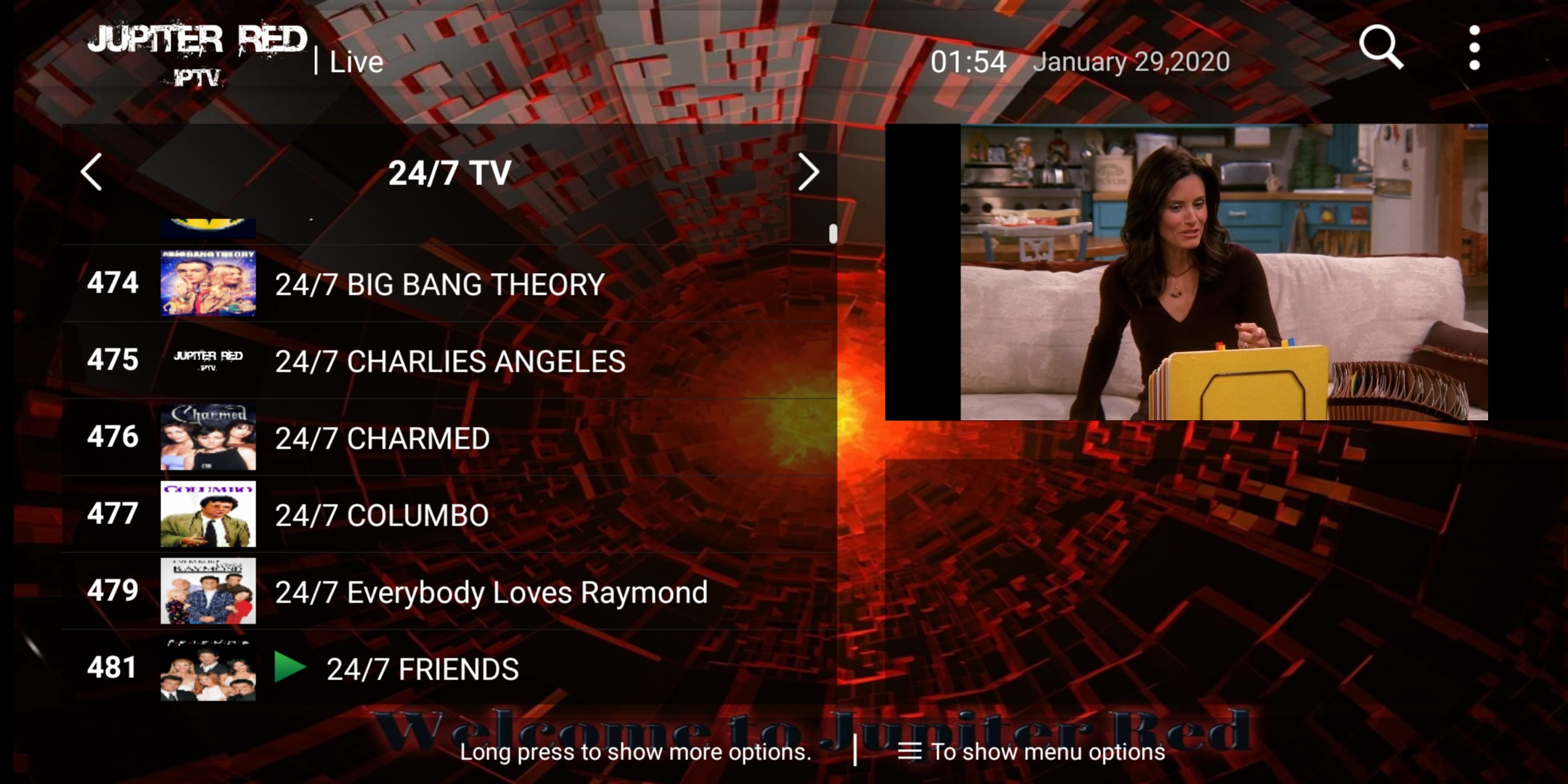 24/7 TV Shows