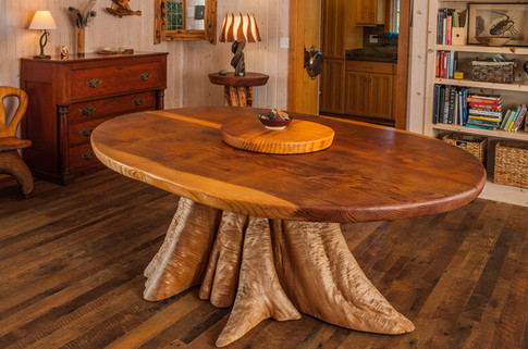 Redwood and Cedar dining table.jpg