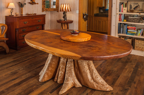 Redwood and Cedar dining table.jpg