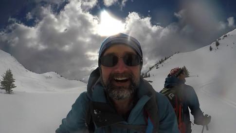 #OldGuysRockin Hut ski trip