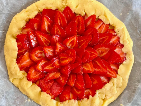 The best strawberry galette