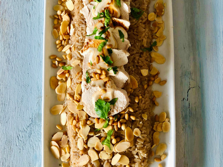 Poached Chicken and Rice