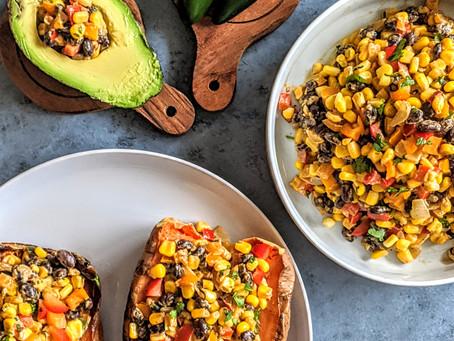 Mexican Veggie Mix With Sweet Potato