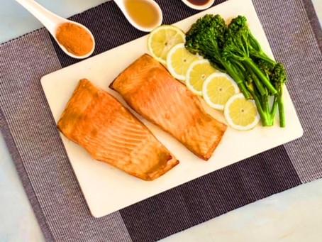 Baked Miso Salmon