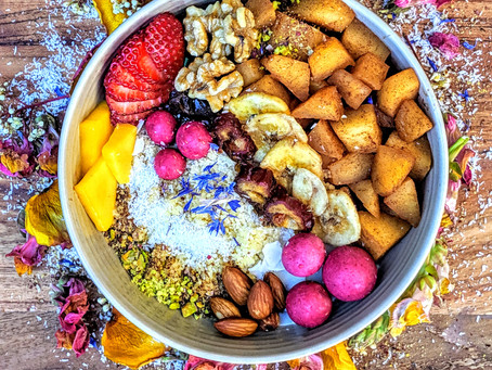 The BIG Vegan Coconut, couscous breakfast