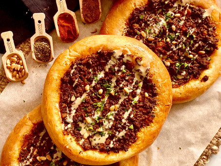 Middle Eastern Pizza/Pie You choose