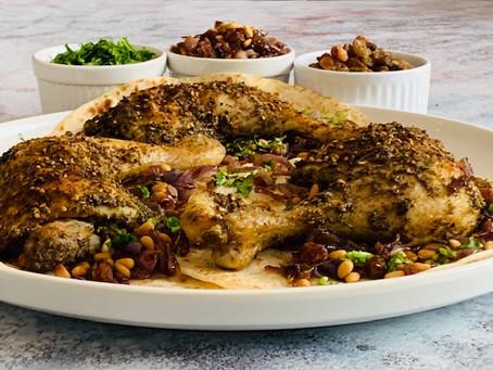 Roasted zaatar chicken