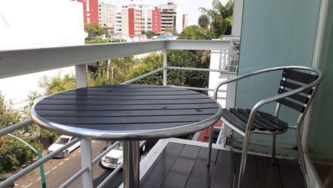 Balcón en suites exteriores