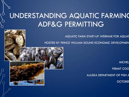Kelp Farm Licensing & Permitting Resources