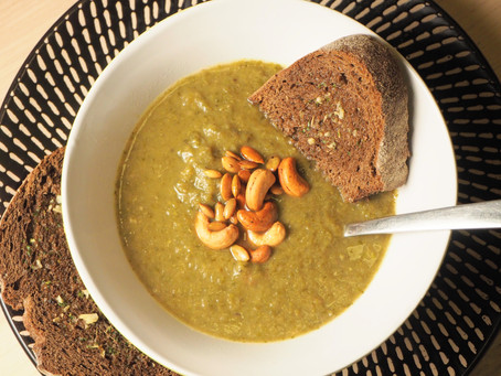 Our Green Soup is the perfect quick and cosy winter night meal