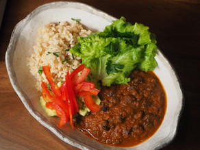 The vegan Nacho Bean Bowl dream weeknight dinners are made of