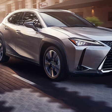 The 2020 Lexus UX 250 hybrid has someone special behind the wheel
