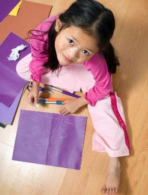 Montessori children in after school cre