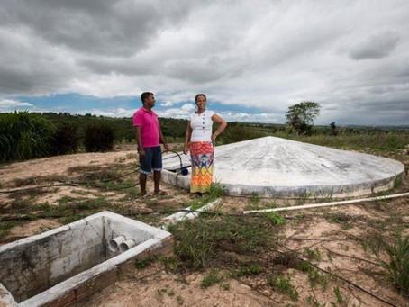 Programa Cisternas democratiza água e garante convivência no Semiárido