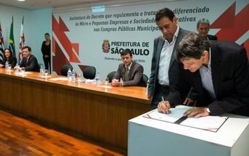 Compras de até R$ 80 mil serão feitas pela prefeitura de SP com pequenas empresas