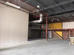 Warehouse Drywall Finishing