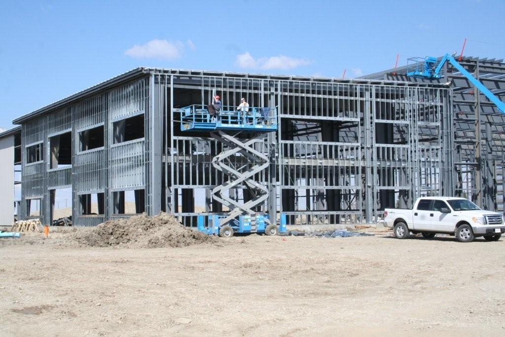 Steel Exterior Framing