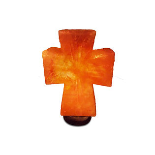 Himlayan Salt Lamp, Pink Salt Lamp, Cross Salt Lamp, Cross Himalayan Salt Lamp, Cross Shaped Salt Lamp, Himalayan Cross Salt Lamp
