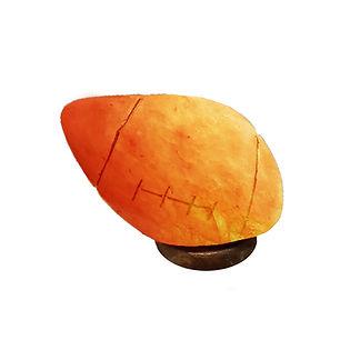 Himalayan Salt Lamp, Rugby Ball Lamp, Pink Salt Lamp, Rugby Ball Lampshade, 3d Rugby Ball Lamp, Wales Rugby Ball Lamp