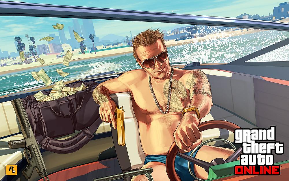 Grand Theft Auto: Online   Rockstar