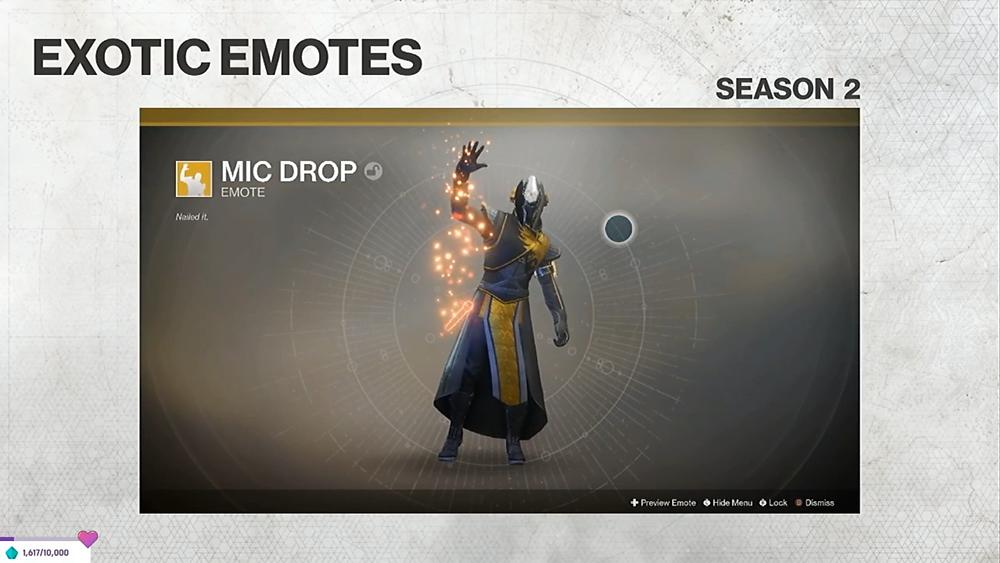 Mic Drop Emote