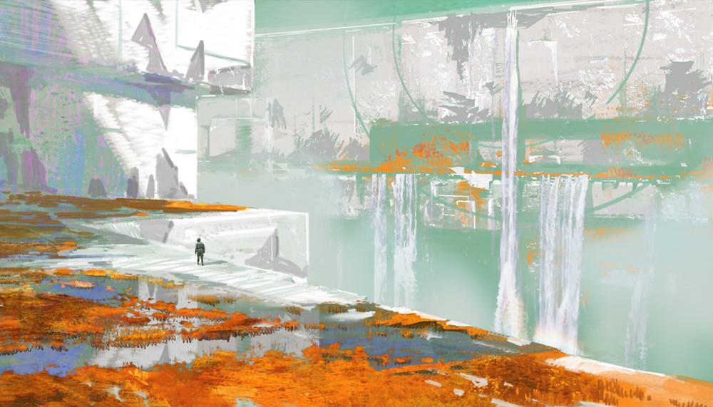 Nessus Concept Art | Bungie