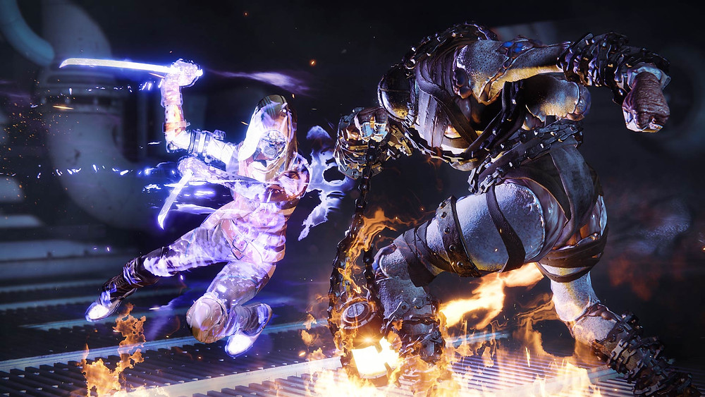 Void Hunters' new 'Spectral Blades' in action