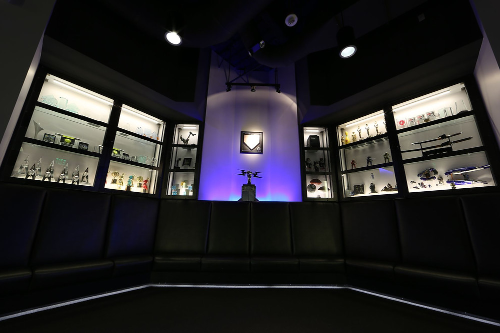 The Famous Bungie Trophy Room   Image Courtesy of Activision