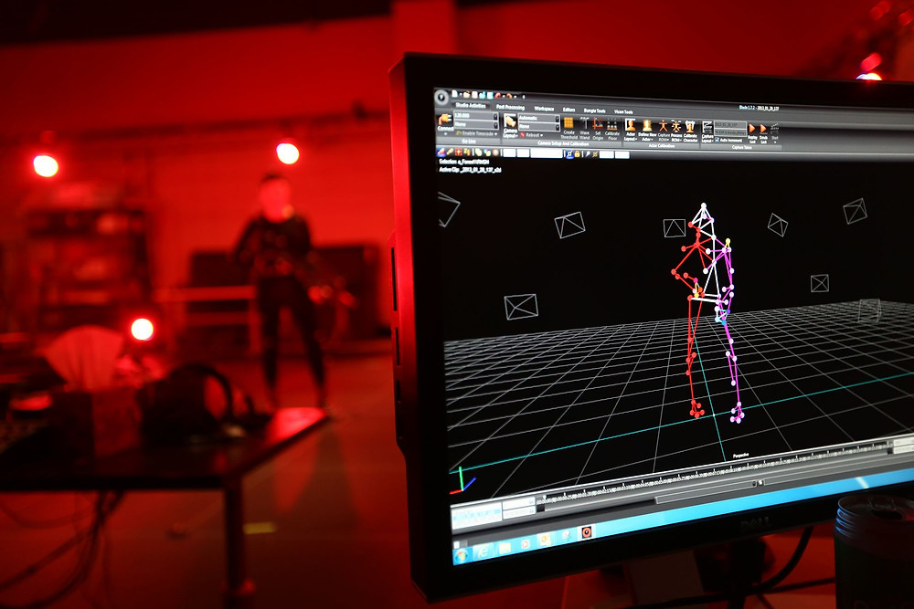 Bungie's Mocap Room   Image Courtesy of Activision