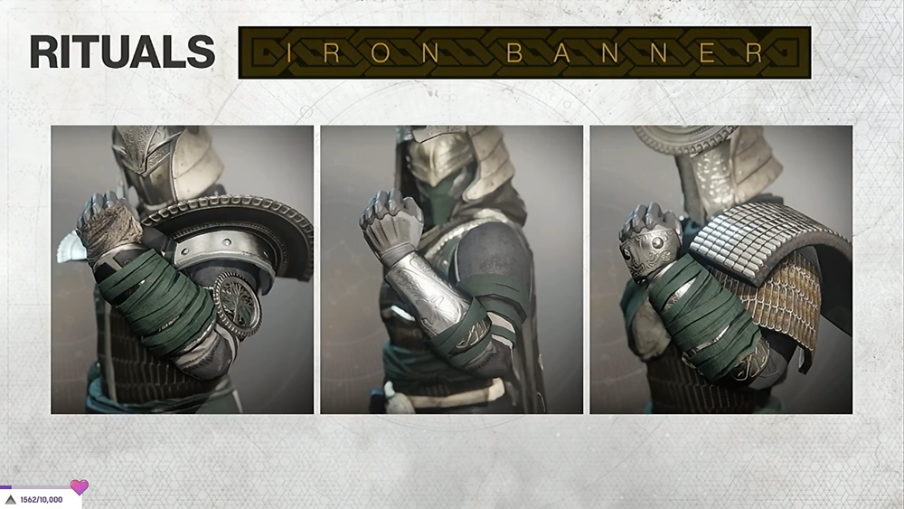 Iron Banner Armor