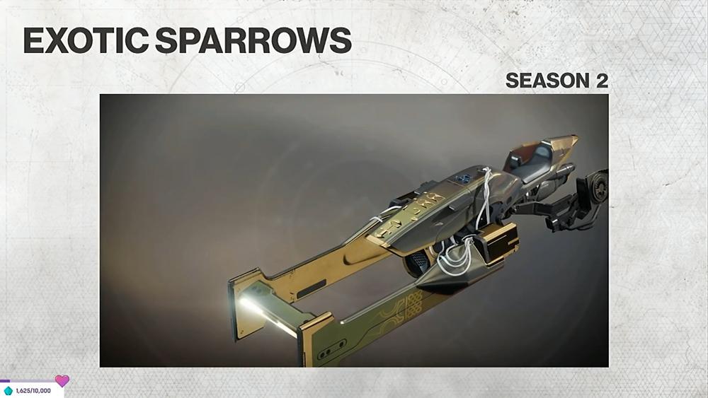 Season 2 Sparrow I