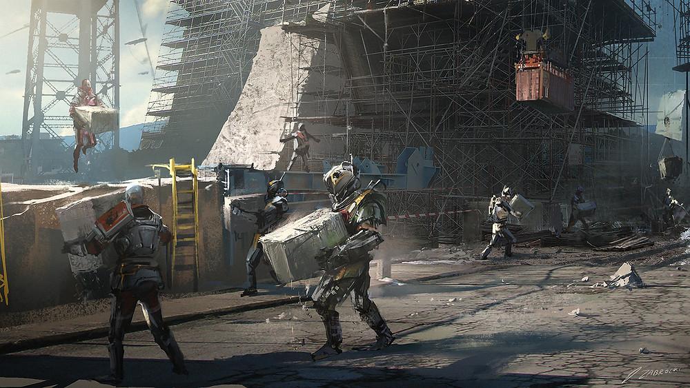Destiny 2 Concept Art | Bungie