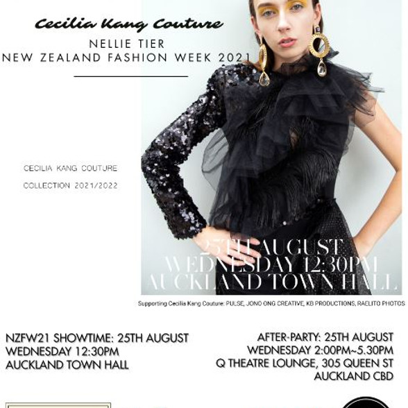 Cecilia Kang Couture, Nellie Tier New Zealand Fashion Week 2021