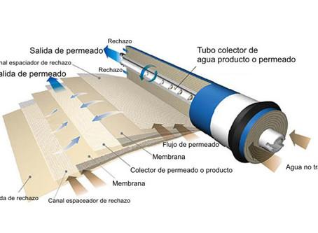 ¿Cómo funciona un sistema de osmosis inversa?