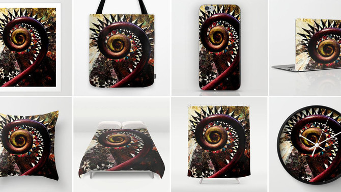 New prints at Joellarts Society6