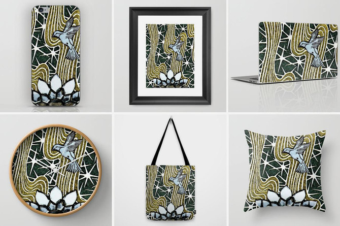 New Prints & Products @ Society6