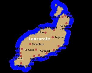 www.voyagerlanzarote.com carte lanzarote