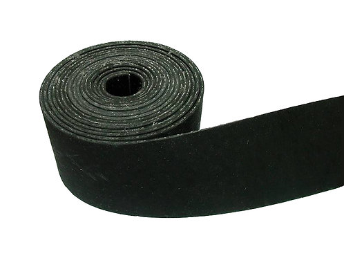 Cut Length Black Pirelli Webbing