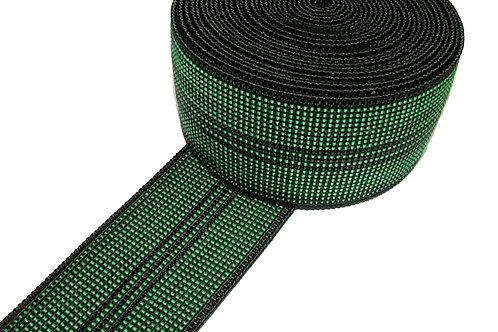 Green Elastic Webbing